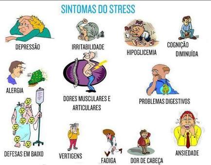 sintomas do estresse